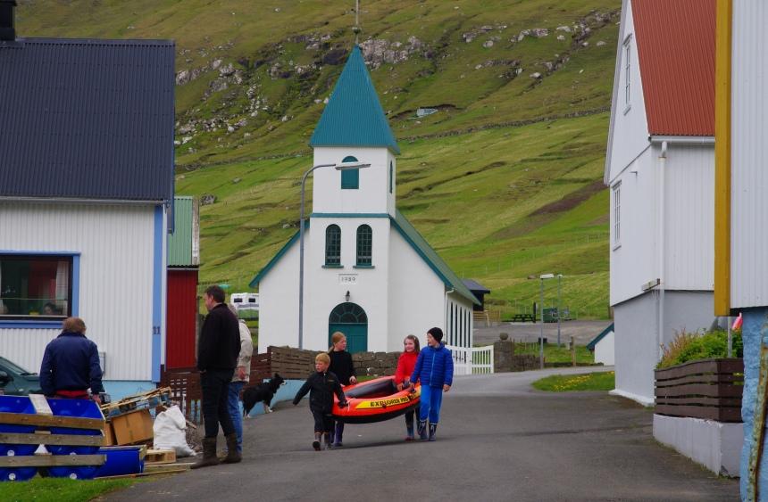 Faeröer eilanden: voor overlevers.