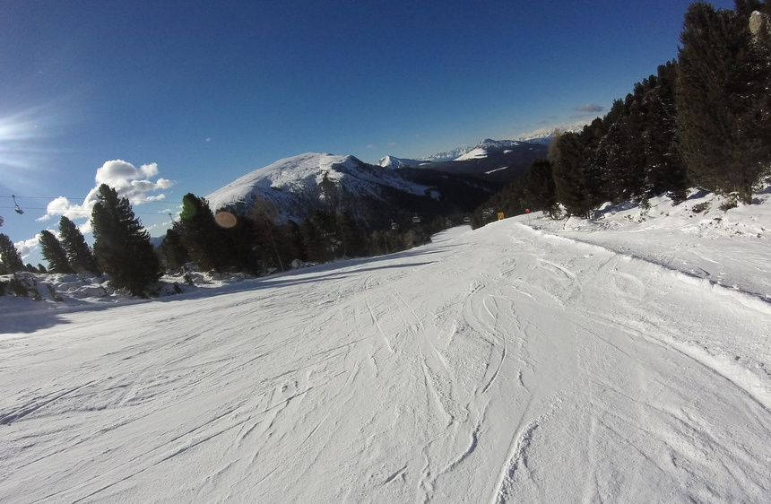 Hier ski je genietend!