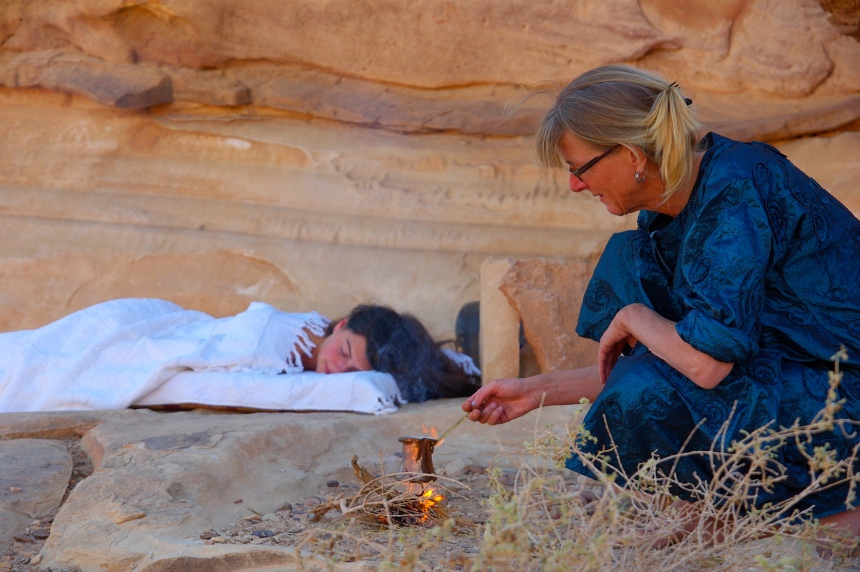 Wellness in de Wadi Rum. Arabische massages in een waanzinnige omgeving.