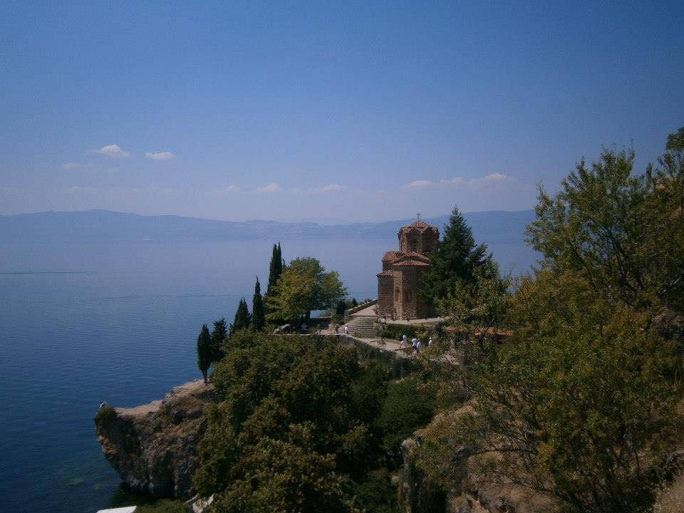 Ohrid Sveti Jovan kerk