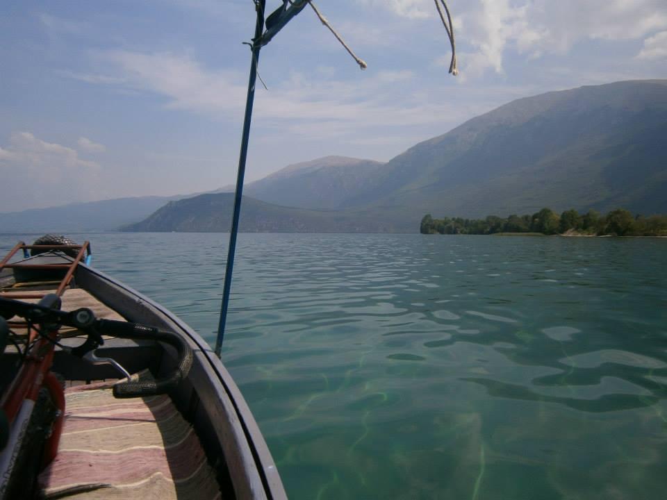 Meer van Ohrid, boottaxi