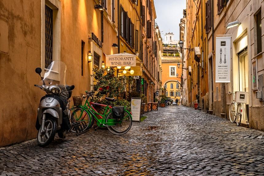 De smalle straatjes en authentieke Middeleeuwse huizen zijn een lust voor het oog