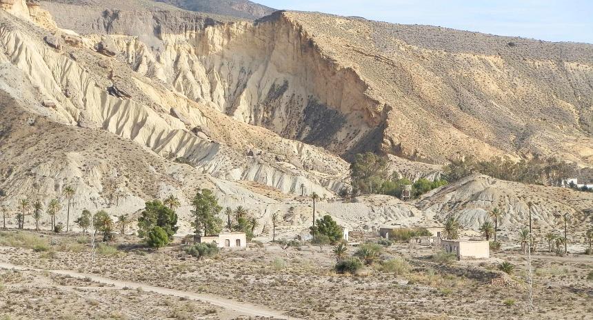 In de Sierra Nevada ligt de enige woestijn van Europa.