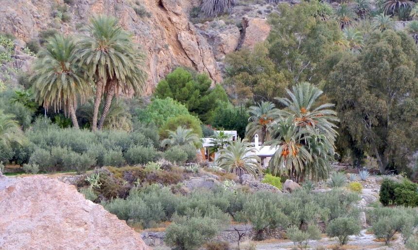 Slapen in een echte oase, waar Romeinen en Moren al kwamen baden.