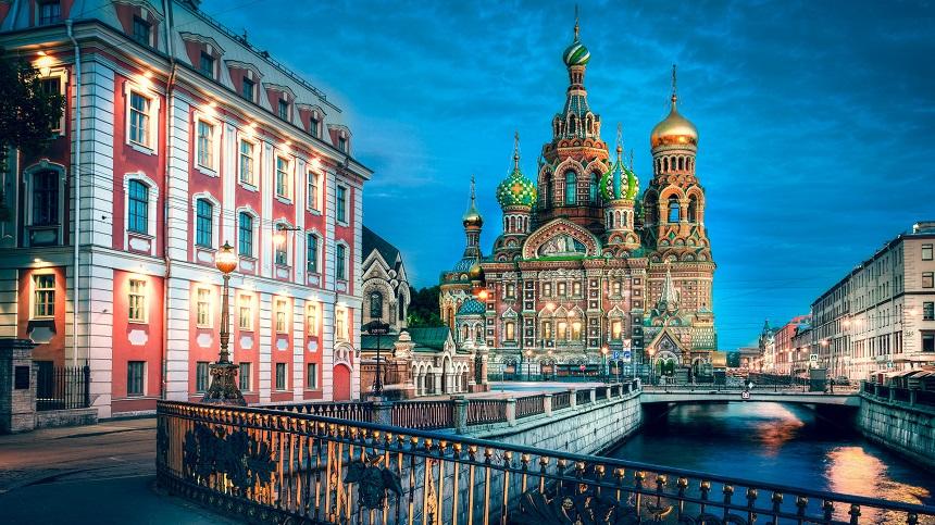 The Church of the Savior on Spilled Blood is een van de belangrijkste bezienswaardigheden in St Petersburg