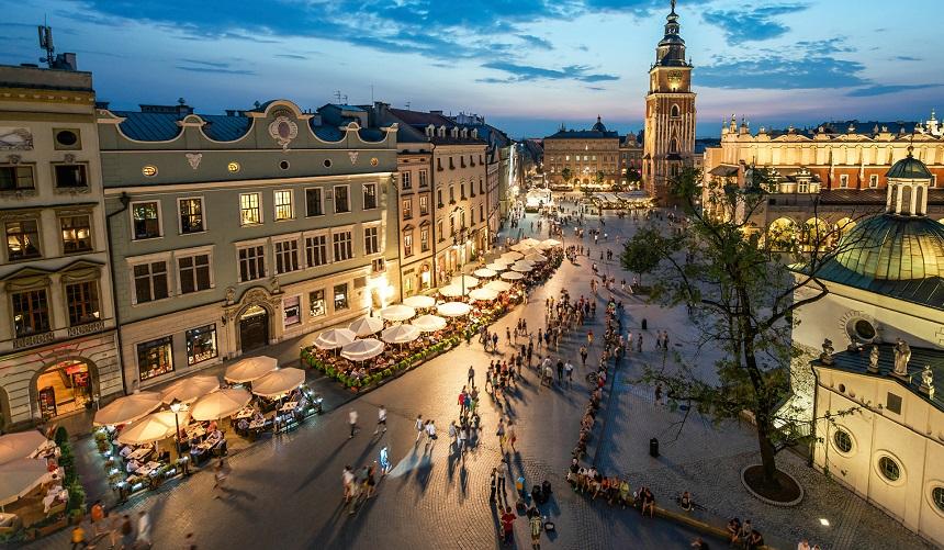 Krakau is door Unesco aangewezen als één van de belangrijkste historische steden ter wereld.