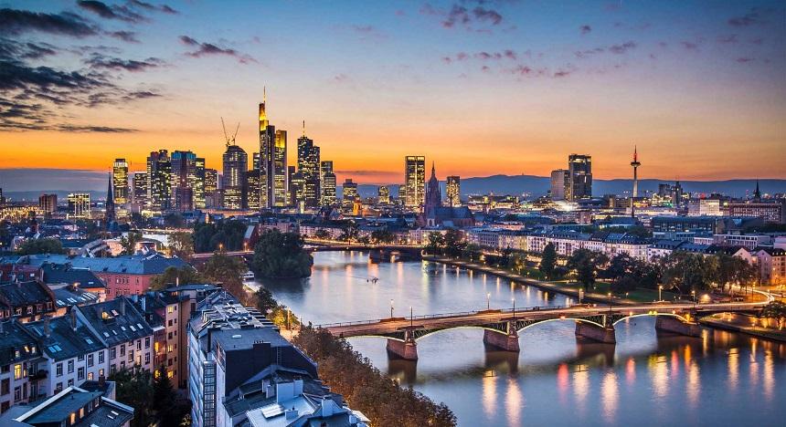 Frankfurt am Main, het financiële hart van Duitsland en Europa