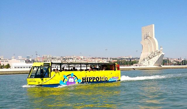 Verken Lissabon te land en te water met de Hippobus!