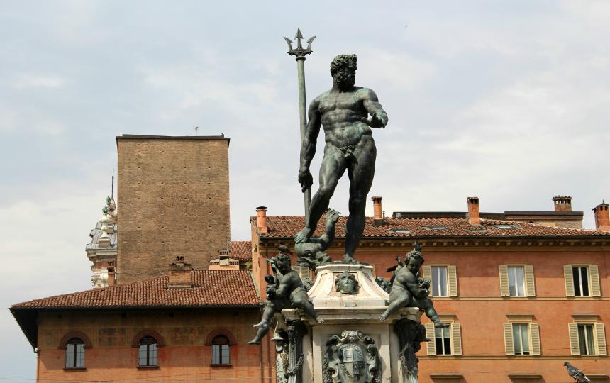 Neptunusfontein, Piazza del Nettuno, Bologna