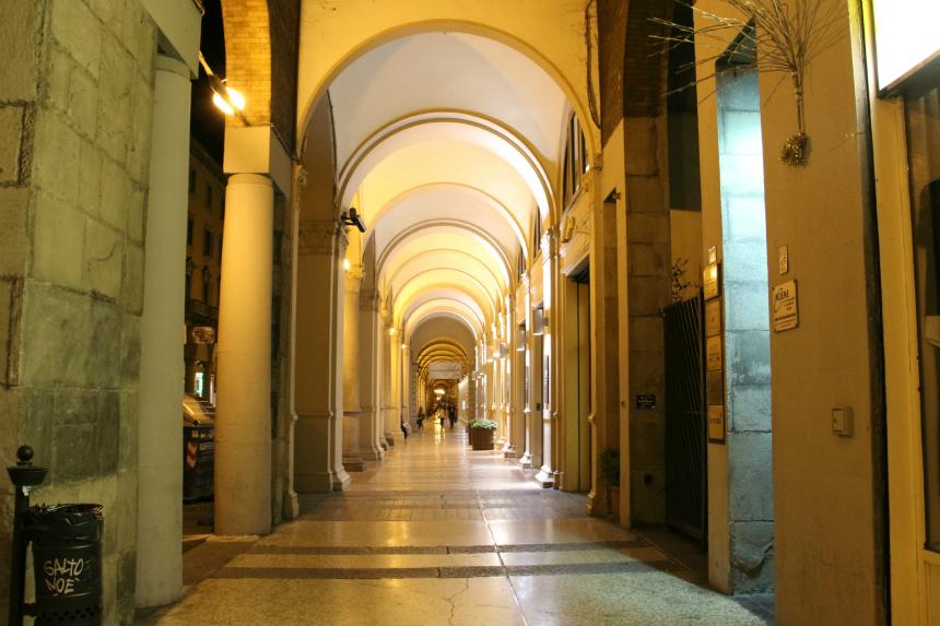 De booggalerijen van Bologna