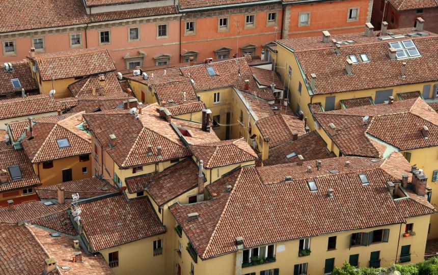 Bologna heeft prachtige oude gebouwen
