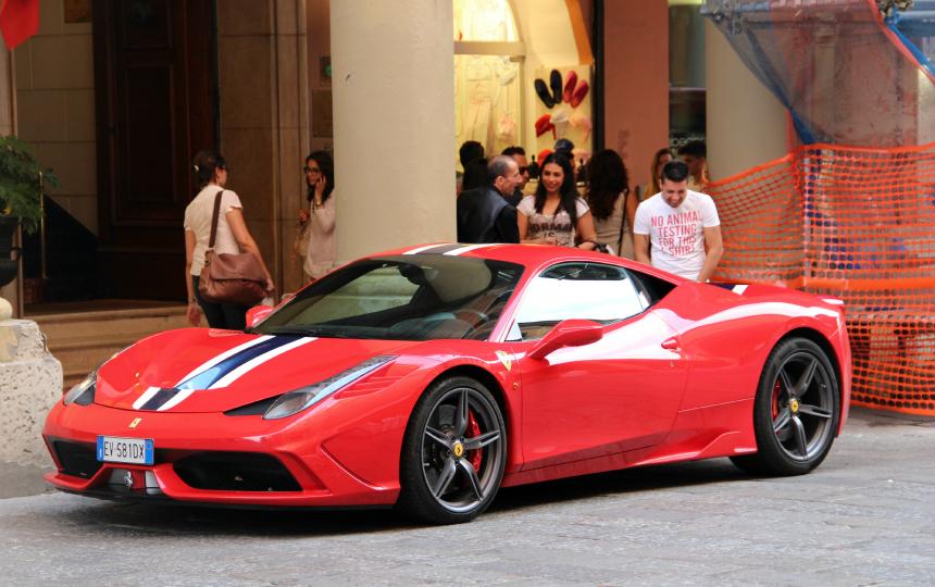 Ferrari in Bologna