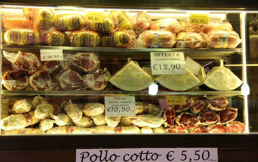 In Bologna kun je je buikje rond eten!