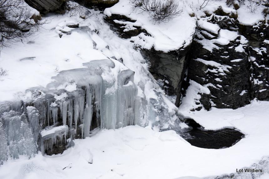 Sneeuw en ijs maken de meest mooie landschappen.