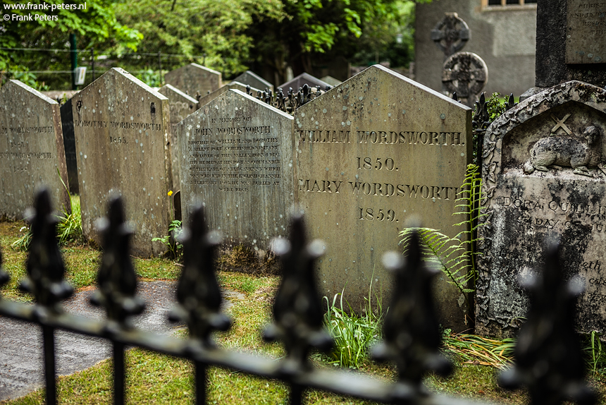Wordsworth's Graf, Grasmere, Lake District, Engeland, Frank Peters