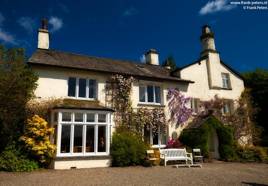 Wordsworth's Huis II, Rydal Mount, Lake District, Engeland, Frank Peters