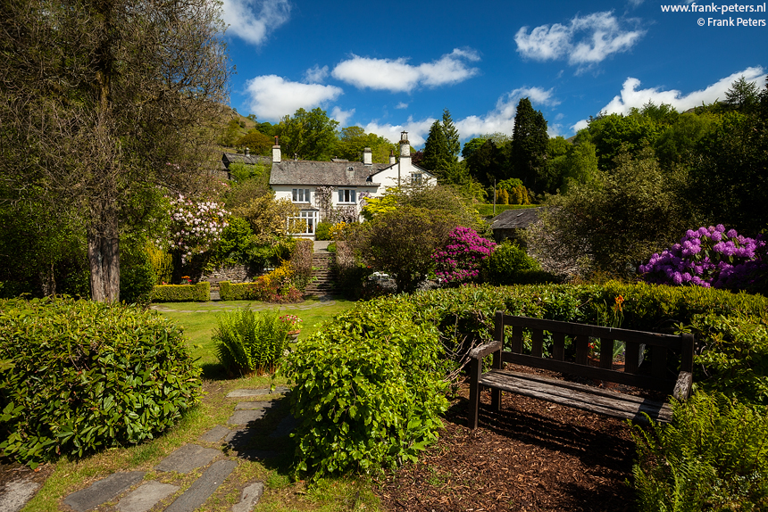 Wordsworth's Huis III, Rydal Mount, Lake District, Engeland, Frank Peters