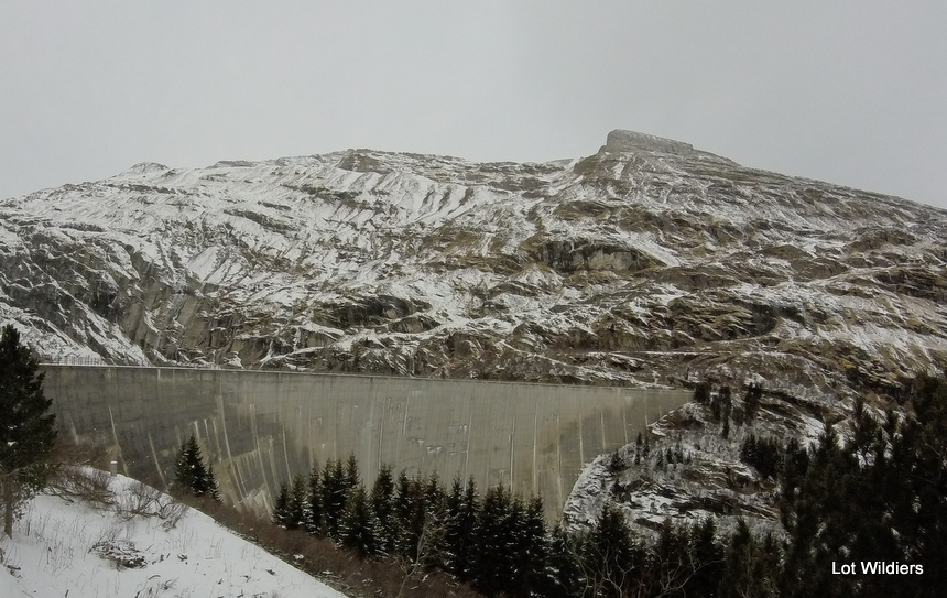 Het dam van Vals