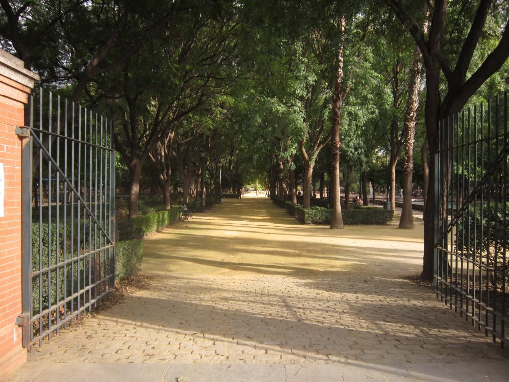 Het park Maria Luisa