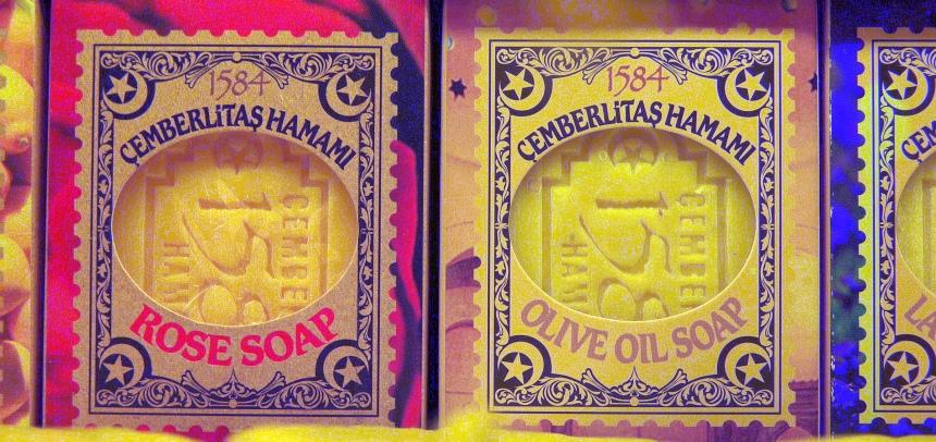Olijfzeep. De enige echte hamam-zeep.