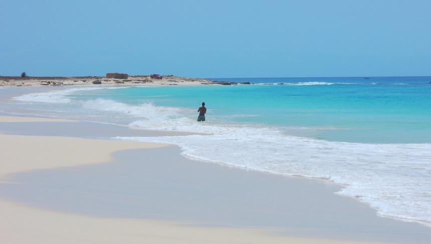 Boa Vista heeft stranden van meer dan 300 meter breed.