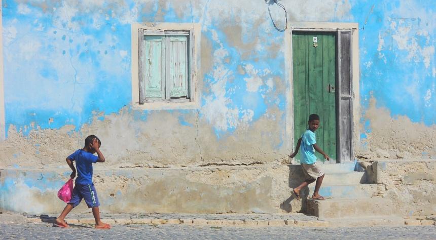 Boa Vista (Kaapverdië) is erg fotogeniek. Iedereen is heel naturel.
