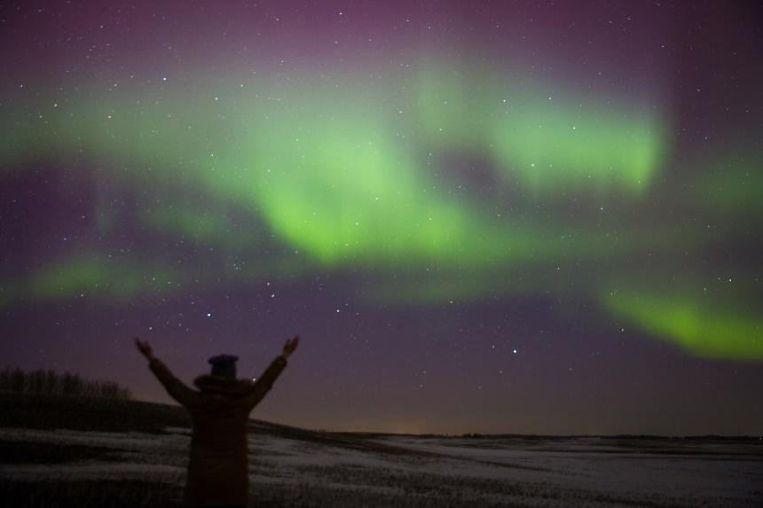 Edmonton behoort, door zijn uiterst noordelijke ligging, tot een van de mooiste plekken om dit magische verschijnsel te bekijken.