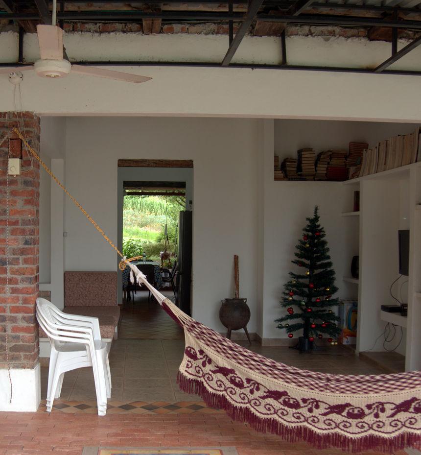 Los Llanos: elke finca heeft een hangmat nodig