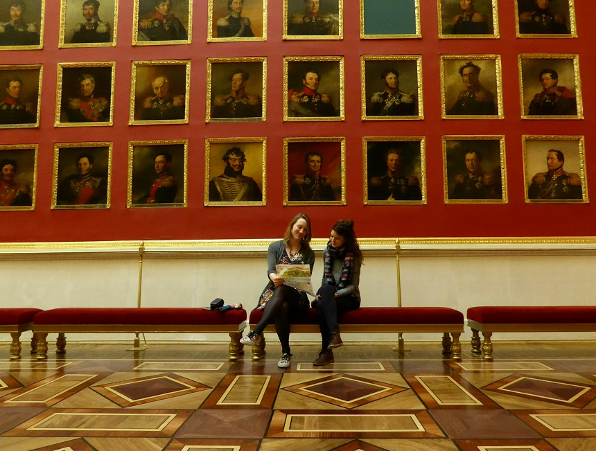 Portretgalerij in de Hermitage