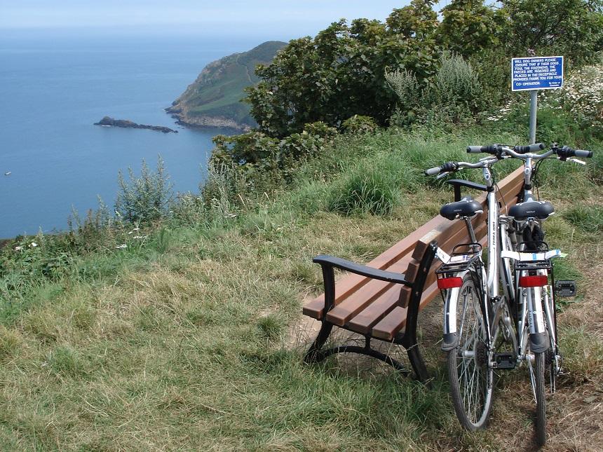 De fiets is het ideale vervoersmiddel op Jersey