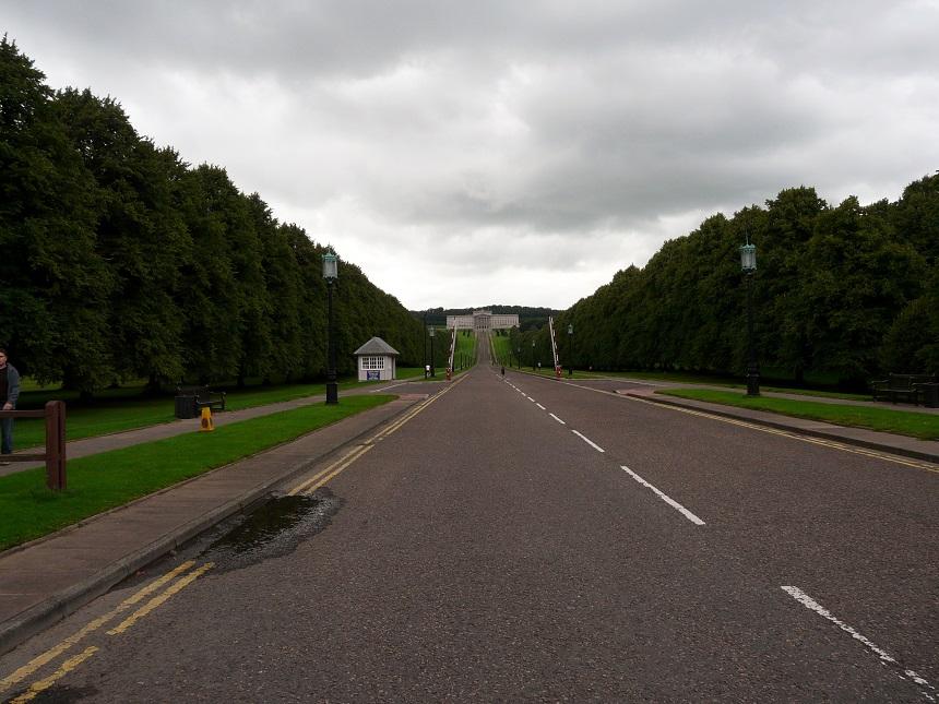 Het park rondom Stormont is een perfecte wandelplek