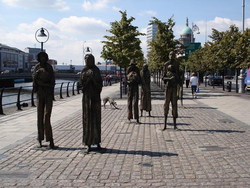 Dankzij de praatgrage Ieren leer je al snel veel over de geschiedenis van de stad