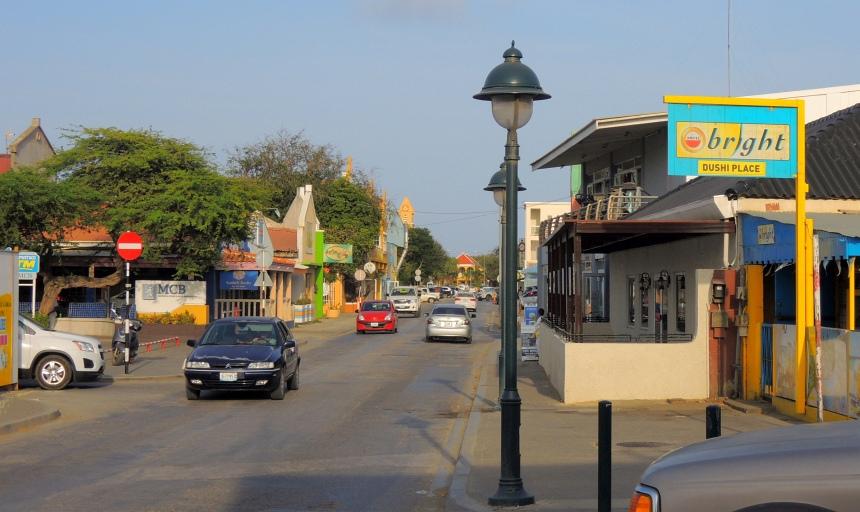 Bonaire is schoon en rustig.
