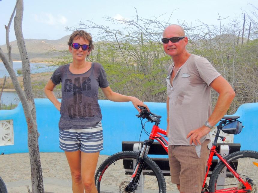 Fietsen op Bonaire is prima te doen.