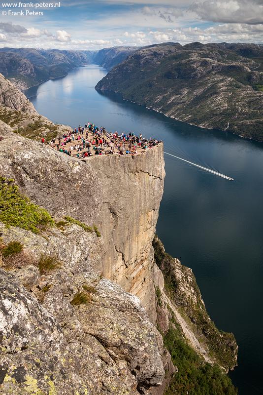 Preikestolen, Lysefjord, Noorwegen