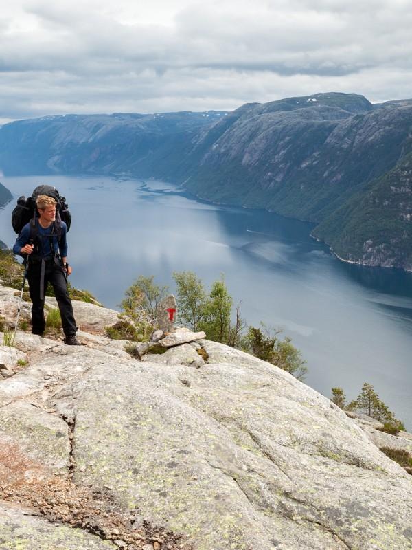 Berggids Cees Apon, Lysefjord, Noorwegen