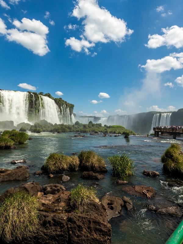 De watervallen van Foz de Iguazú