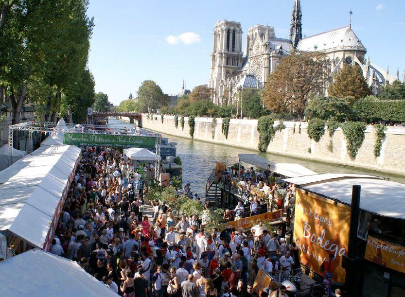 Markt in Parijs