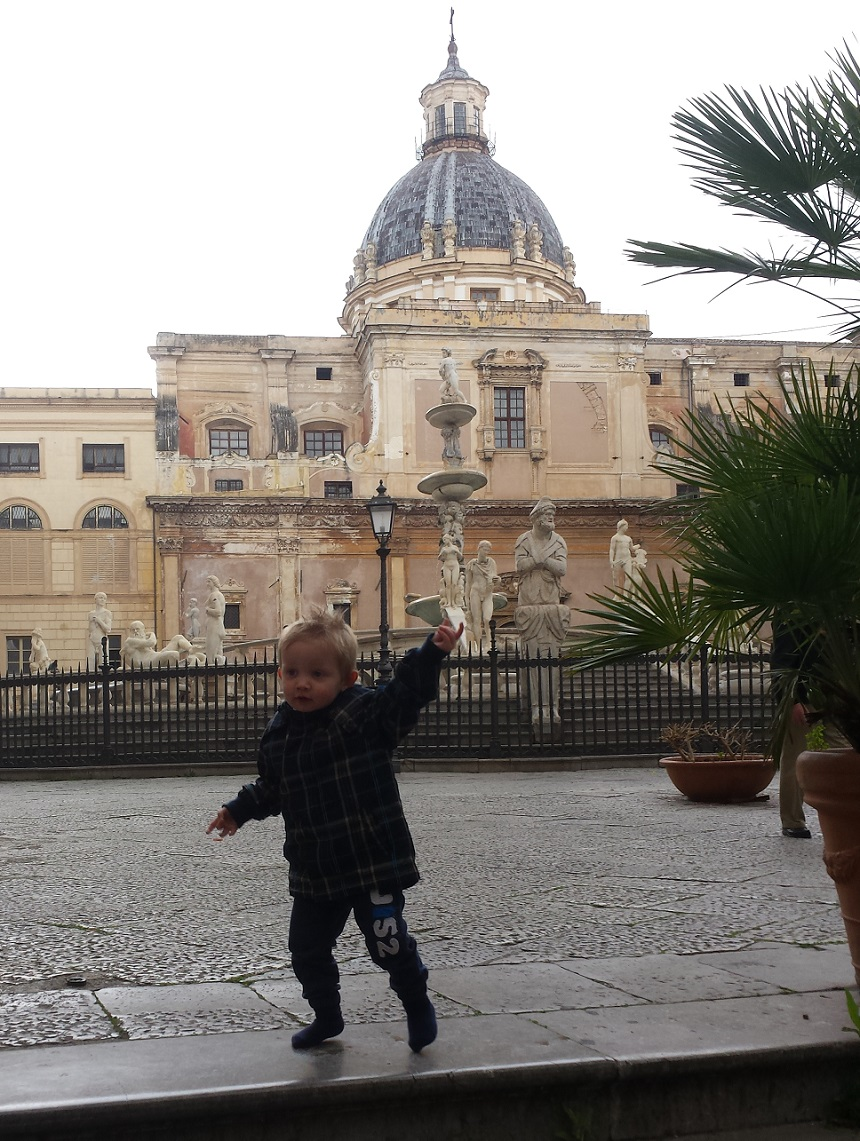 Mika in Palermo