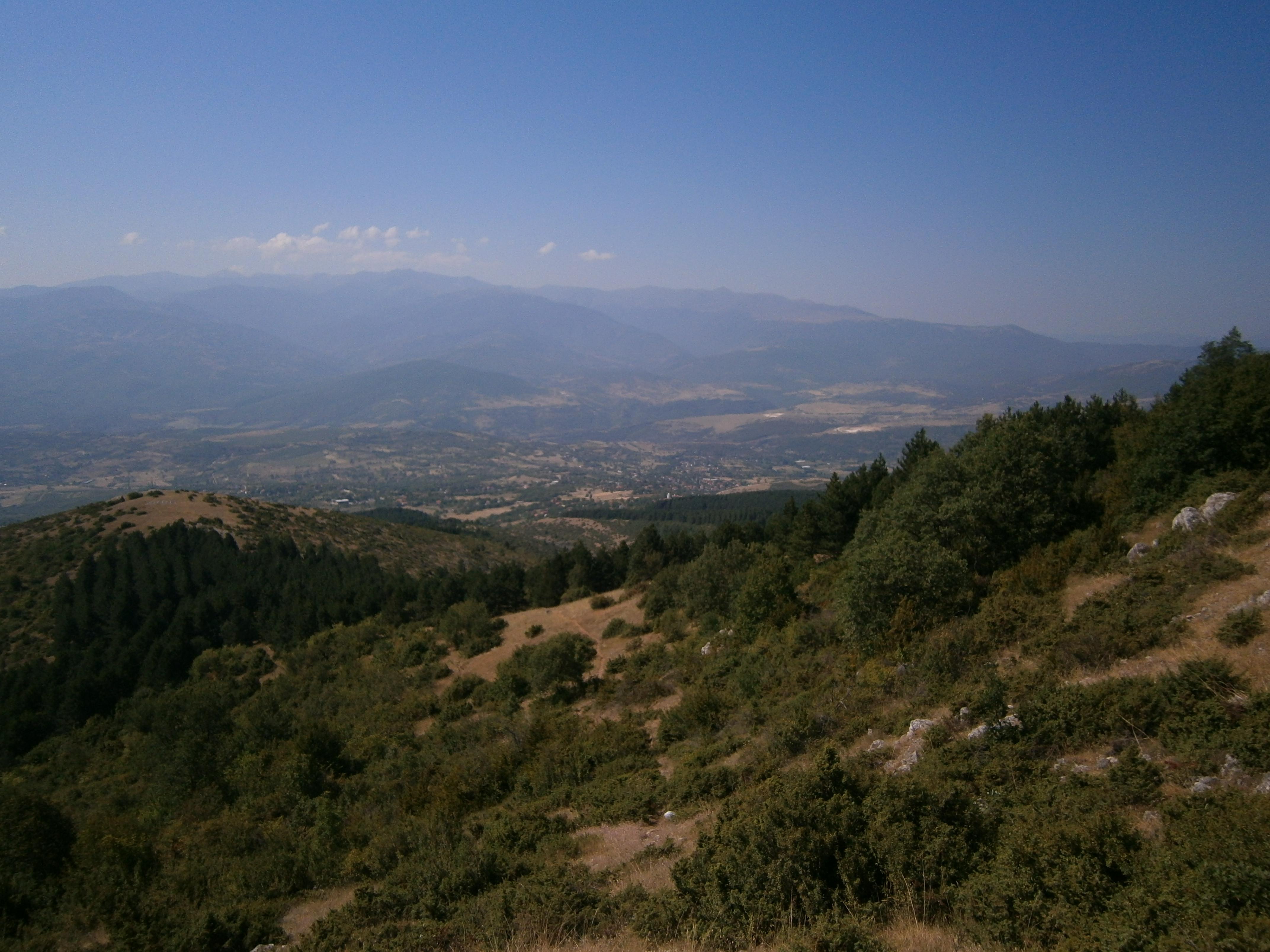 Bergen Macedonië Natuur Vodno