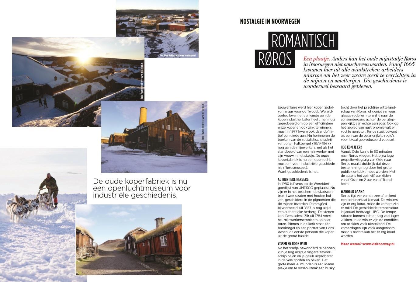 Reishonger Fleur in Wacht Magazine