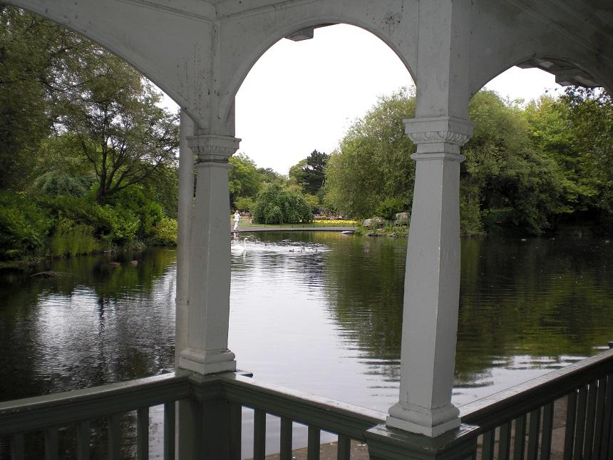 St. Stephens Green is een prachtig stadspark, gelegen aan de zuidkant van het centrum