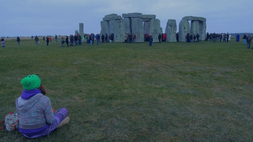 Stonehenge is 5000 jaar oud. In trance wachten op het begin van de lente.