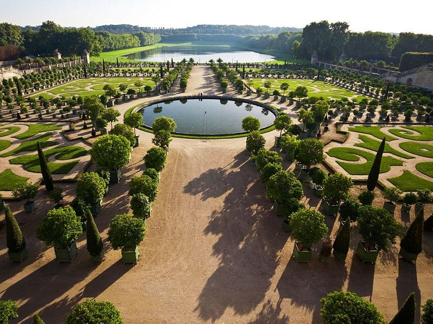 Versailles tuinen in Parijs