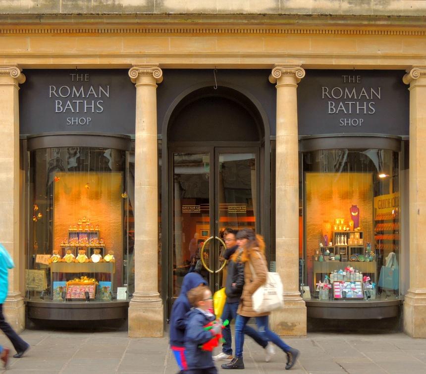 De stad Bath staat in zijn geheel op de UNESCO erfgoedlijst.