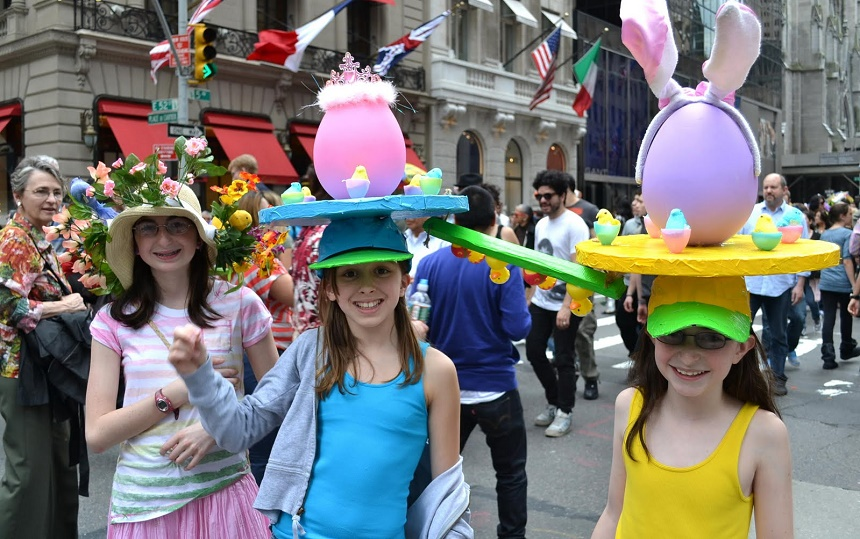 paasparade in New York