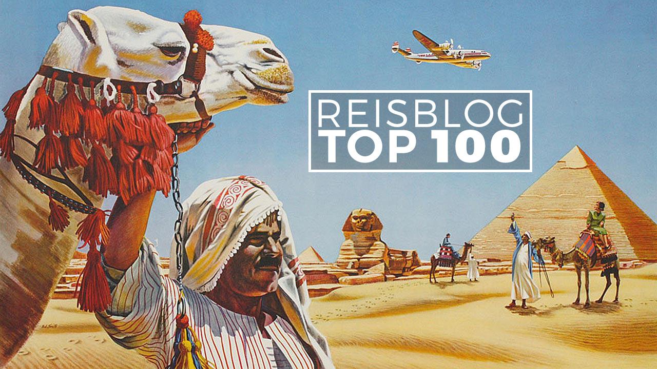 Top 100 van populairste Nederlandstalige reisblogs