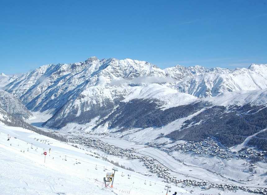 Wintersporten in Livigno