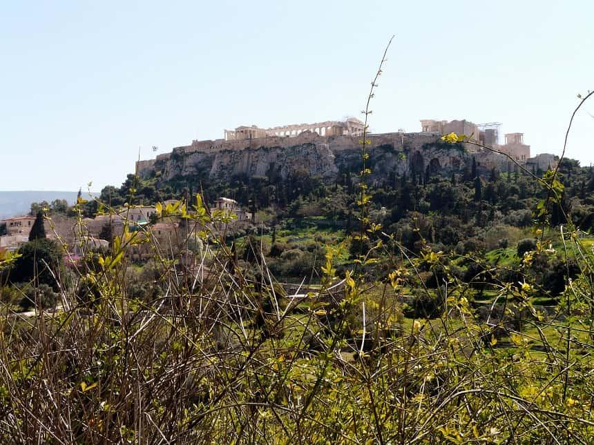 De Agora van Athene valt ook te bezoeken met het kaartje voor de Akropolis