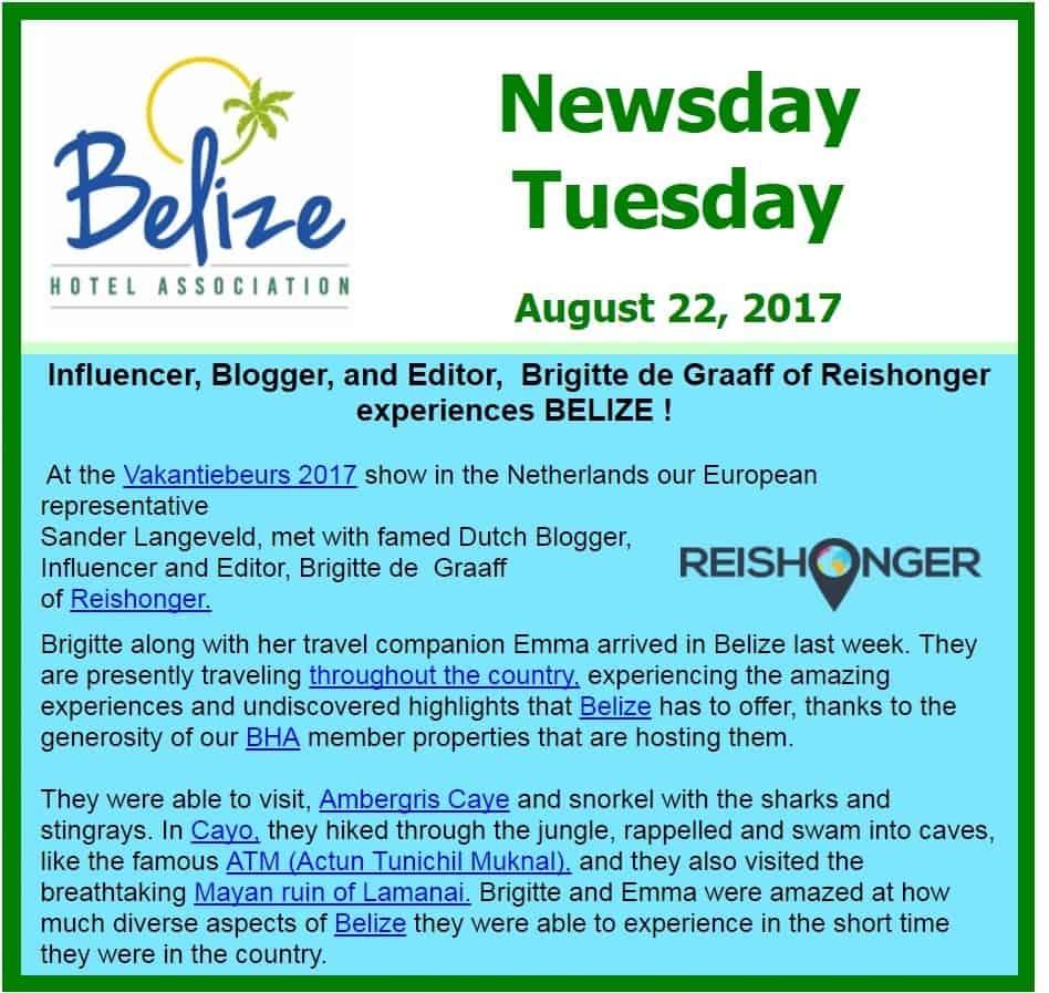 Belize-nieuwsbrief